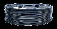 PLA пластик для 3D печати,1.75 мм, 0.75 кг 0.75, Серый-графит