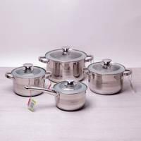 Набор посуды индукционной 8 пр. Kamille 4504S