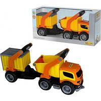 ГрипТрак, автомобиль-самосвал с полуприцепом (в коробке) 37466