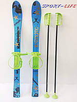 Лыжи детские Marmat 90 см, синие