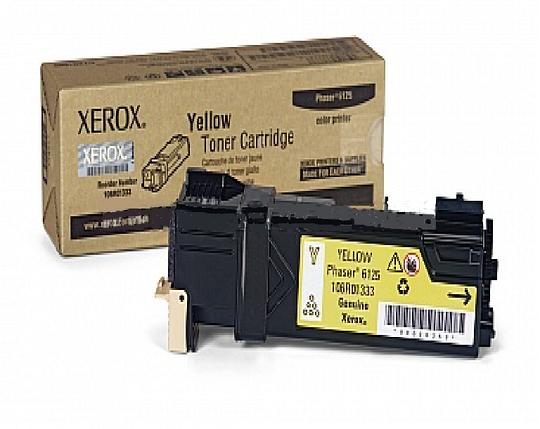 Тонер картридж Xerox PH6125 Yellow, фото 2