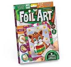 Аплікація кольоровою фольгою Foil Art