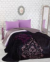 Комплект постельного белья с пледом Cotton Box Digital Battaniyeli Neveresim Kosem Sultan murdum