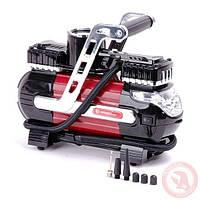 Двухцилиндровый компрессор INTERTOOL AC-0003 автомобильный цилиндр 30 мм