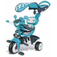 """Детский металлический велосипед """"Комфорт"""", голубой, 10 мес. +"""