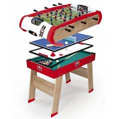 """Деревянный полупрофессиональный стол """"Power Play. 4 в 1"""", 120х90х86 см, 8+"""