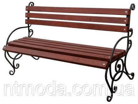 Скамейка садовая. Л-002-1