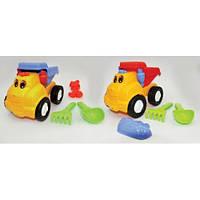 Детский набор игрушек «Грузчик»: машина, лопатка, грабли, одна пасха маленькая, 2 вида, 3+