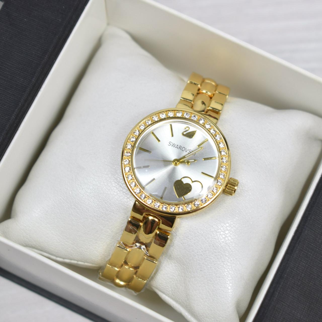 bf4eded2dee1 Часы женские наручные Swarovski золото, часы дропшиппинг - Интернет -  магазин MaxTrade в Днепре