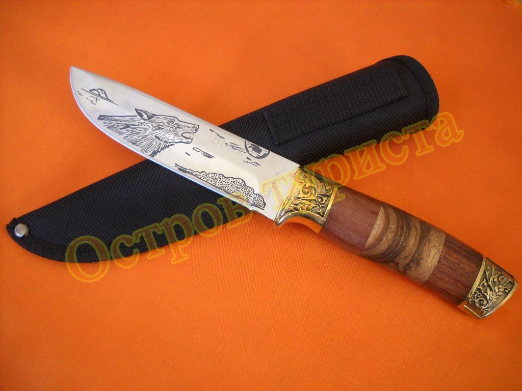 Нож туристический Волк 1138