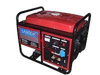 Генератор cварочный бензиновый Samson SQ-190A ток 210А, бензобак бензин 25л, ручной старт