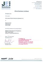 """ЦТП """"Пром-Индустрия"""" (ФЛП Бондаренко Е.Н.) - является официальным представителем в Украине Британского завода портативных машин и оборудования JEI Solutions Ltd. Имеет право на продажи, сервисное обслуживание и техническую поддержку."""