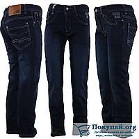 Тёплые джинсы на мальчика Размеры: 5,6,7,8,9,10 лет (5814)