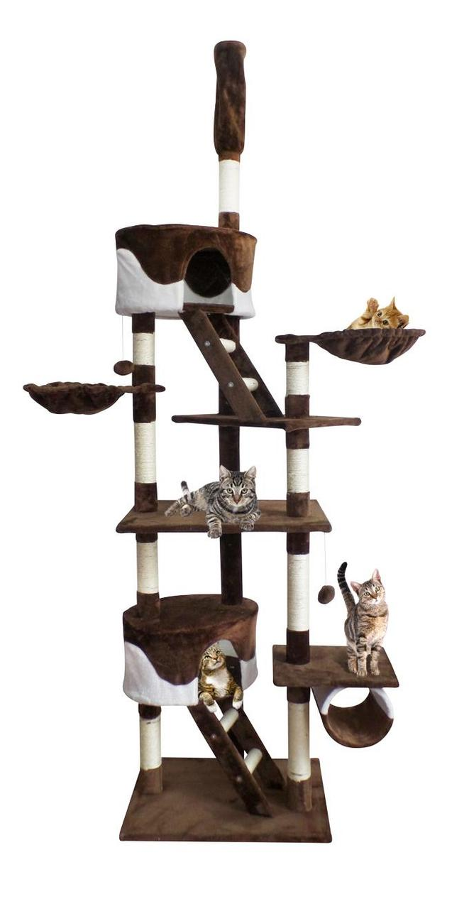 Когтеточка Домик для кота Дряпка 255 см
