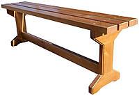 Скамейка деревянная. Л-007-1, фото 1