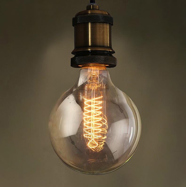 Лампа накаливания Эдисона 40вт G95 VITO