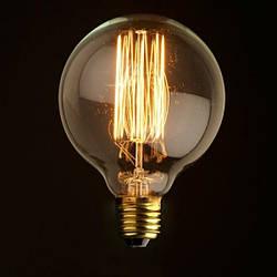 Лампа накаливания Эдисона 40вт G125  VITO