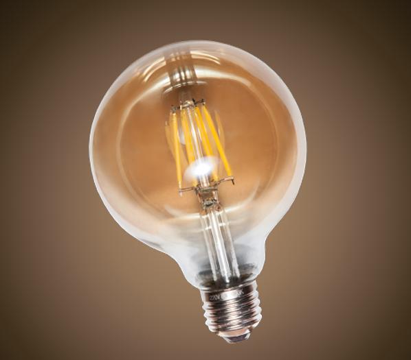 Лампа Эдисона светодиодная 4W Levistella G-95