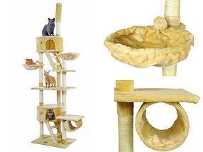 Когтеточка Домик для кота Дряпка 255 см, фото 3
