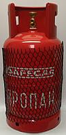 Безопасный металлический пропановый баллон Safegas 7,3л.