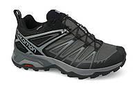 Мужские кроссовки SALOMON X ULTRA 3 GORE-TEX (398672) серые