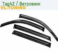 Дефлекторы «VL» на TagAZ Tager c 2008 г.в. 3d