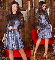 Велюровое платье на Новый год. Норма