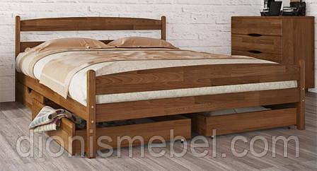 """Кровать двуспальная Олимп """"Лика с ящиками"""" (200*200)"""