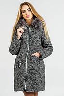 Женское зимнее пальто ДАНИЯ Leo Pride 42-48 размеры