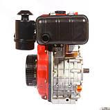 Двигатель для мотоблока WEIMA Вейма WM178F дизель , шпонка\ шлицы 6,0л.с., фото 2