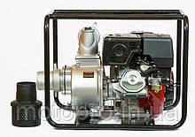 Бензиновая помпа Weima WM QGZ 100-30, Бензин, двиг. WM190F, 16,0л.с.  Патрубок 100мм,  120куб/час