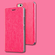 Чехол (книжка) Mofi на Xiaomi Mi 5C Pink