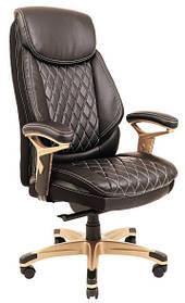Кресло Сенат Пластик Кожзам Черный (Richman ТМ)