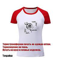 Термотрансферная печать на ткани, термоперенос на крое и футболках оптом
