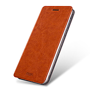 Чехол (книжка) Mofi на Xiaomi Mi 5S Brown
