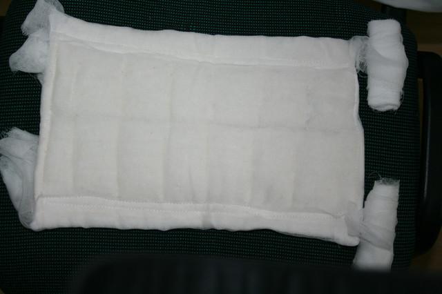 Использование ватно-марлевой повязки для остановки кровотечения