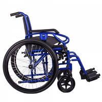Коляска инвалидная MILLENIUM III синяя, фото 1
