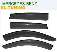 Mercedes Benz C-klasse (W203) с 2000-2006 г.в. Sedan — Дефлекторы «VL» на окна (ветровики)