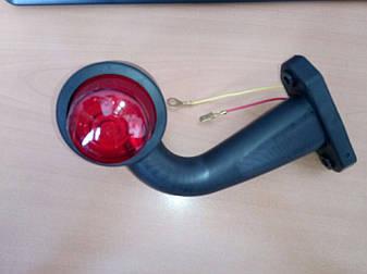 Габаритный фонарь правый короткий крючком 0BR003/H, фото 2