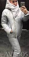 Модный лыжный костюм