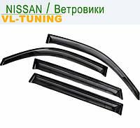 NISSAN Micra (K12) с 2003 г.в. 3d — Дефлекторы «VL» на окна (ветровики)
