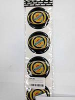 Силиконовые наклейки на колпаки и диски chrysler