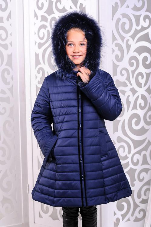 Куртка зимова для дівчинки.
