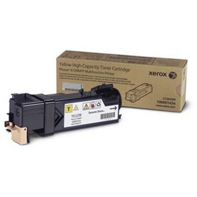 Тонер картридж Xerox PH6128 Yellow