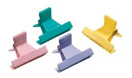 3150025 Зажим пластиковый разноцветный Comair (12 шт/уп) за 1 шт