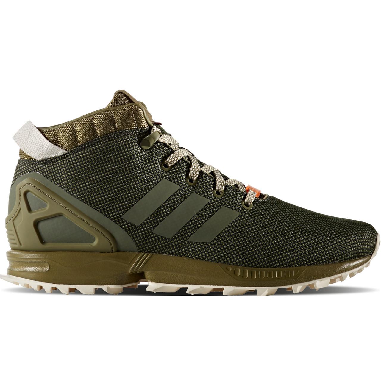 Оригинальные кроссовки adidas ZX Flux 5 8 Olive Cargo - Sport-Sneakers -  Оригинальные 84cc8e18312