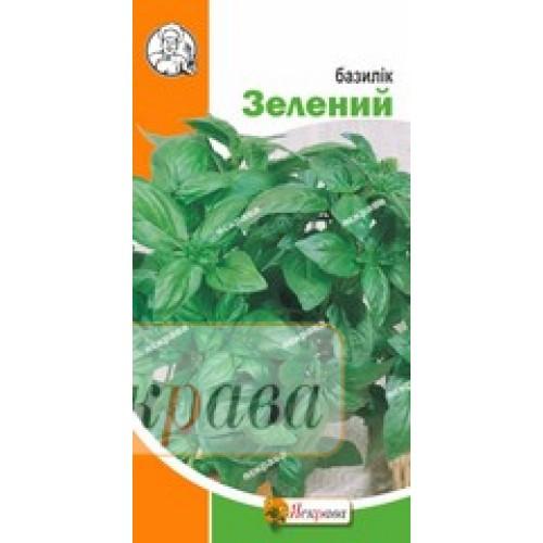 """Семена Базилика зеленого 0,3 гр (Яскрава)"""