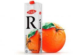 Сік Rich Апельсин 1л.