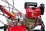 Мотоблок WEIMA WM1100A-6,  4+2 скорости,дизель 6л.с.,руч старт,  DIFFERENTIAL БЕСПЛАТНАЯ ДОСТАВКА*, фото 3