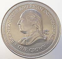Мэн 1 крона 1978 - 200 лет независимости Америки